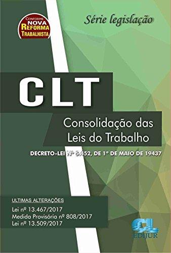 CLT - Série Legislação -