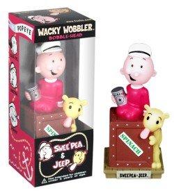 Popeye Serie 1 Bobble Heads - Sweet Pea Wackelfigur (Pea Sweet Popeye)