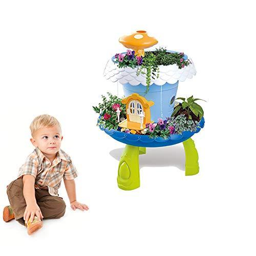 Hilai 1 Packung Gartengeräte Spielzeug-Pflanz DIY Plantation Toy Stem Pretend to Für Kinder Spielen Wachsen Sie Ihre eigene Garten Spielzeug Jungen und Mädchen