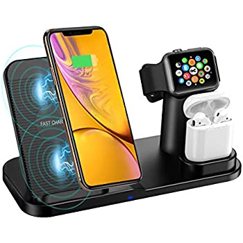 3 en 1 Support chargeur station de Charge pour Apple watch iPhone Air Pods ipad mini Charge Dock