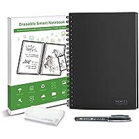 Reutilizable Erasable Everlast Cuaderno Inteligente Cuaderno Digital B5 Tamaño 60 Páginas de Almacenamiento APP Apto para Estudiante Ingeniero
