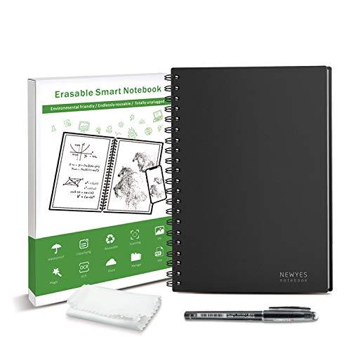 Riutilizzabile Cancellabile Smart Notebook Digital Notebook B5 Dimensioni 60 pagine APP Memorizzazione Adatto per Ingegnere Ufficiale Studente