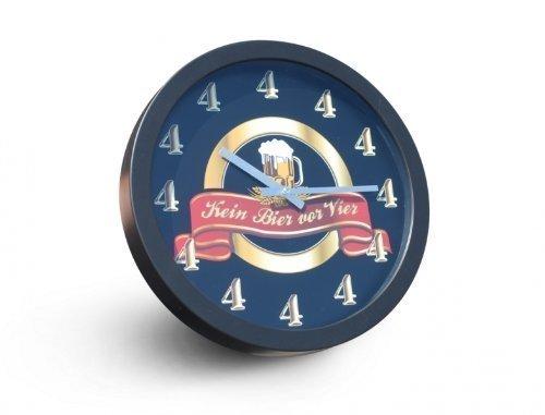 Pfiffig-Wohnen Reloj con Diseño en Alemán Desin Cerveza Antes de Las Cuatro