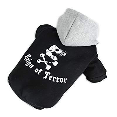 Pawz Road Large Dog Clothing Pet Clothes Dog Sweater Pet Fleece Winter Warm Dog Product Hoodie 2 Colors 3sizes