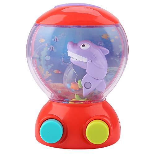 Cartoon Shark Spiele Maschine Kindheit Speicherfähigkeit Ring Werfen Puzzle Spielzeug Zeitvertreib Lernspielzeug Kind Geschenk ()