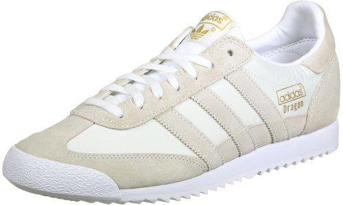 adidas Herren Dragon Og Sneaker Weiß (Footwear White/Footwear White/Gold Metallic)