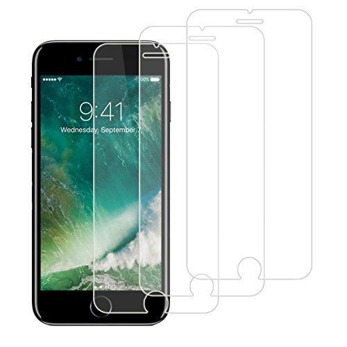Réllot Verre Trempé pour iPhone 7/8 [3 Pack] Protection d'écran en Verre Trempé pour iPhone 7 / iPhone 8, Anti Rayure, Super Résistant et sans Bulles d'air