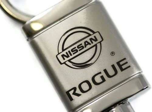 dantegts Nissan Rogue. Valet Schlüsselanhänger Authentic Logo Kette Key Ring Schlüsselanhänger Schlüsselband 9,5cm L x 2,5cm W (Nissan Rogue Schlüsselanhänger)