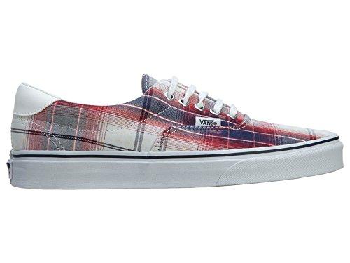 Vans Unisex-Erwachsene Era 59 Sneaker Red/Navy