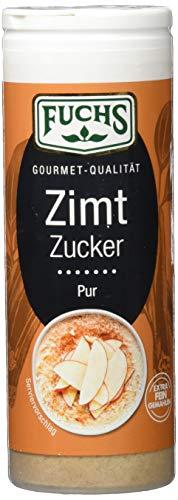 Fuchs Gewürze Zimt-Zucker Pur, 4er Pack (4 x 100 g)