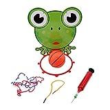 Winwinfly Indoor Einstellbare Hängende Basketball Box mit Ball Spiel Kinder Spielzeug Frosch