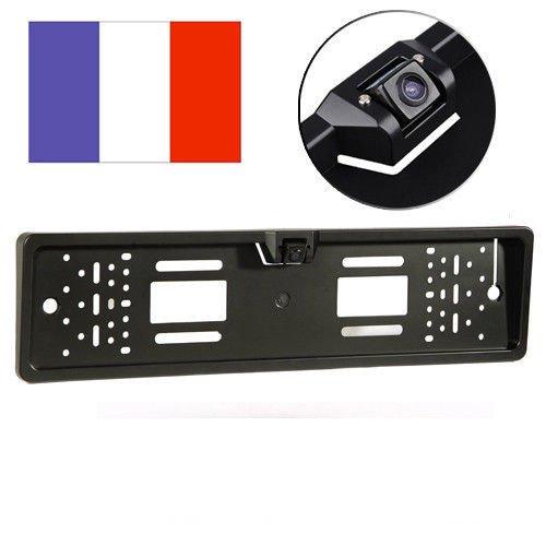 Amzdeal® Vision de nuit 170° caméra pour voiture plaque de license radars de recul systeme étanche IP67