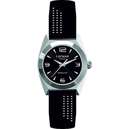 Reloj Solo Tiempo Mujer Locman Nstea clásico cód. 0804A01A-00BKNKSK