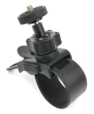 Stabile Fahrrad-Halterung mit 3,5 mm Stativschraube für Actionpro X7 Full HD 12 Mpx Wi-Fi und Albrecht Mini DV 100 Kameras
