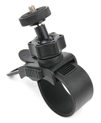 Support /bras ajustable DURAGADGET à fixer sur guidon de vélo pour Panasonic Lumix DMCLX10, DMCLX15, DMCTZ70EB-K, DMCTZ70EB-S, DMCTZ70EG-K,