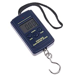 iColourful 20g-40Kg Digital Pocket Electronic Hanging Hook Scale Luggage Fishing Weight