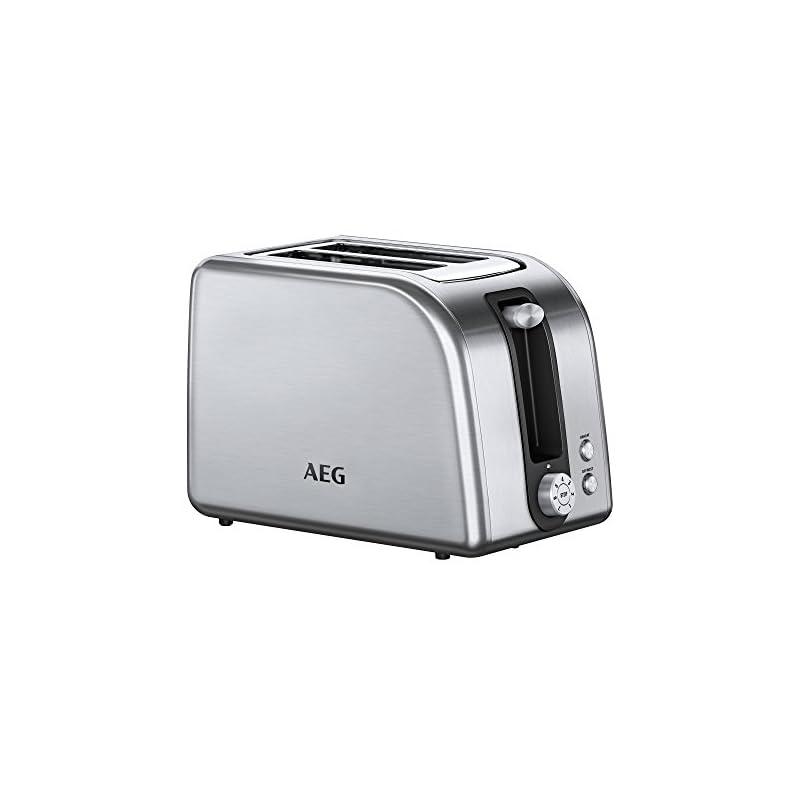 Aeg At 7750 2 Scheiben Toaster Silber 850 Watt