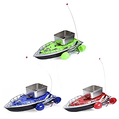 Leopard Shop 200M Fishing Lure Bait Boat Mini RC Wireless for Finding Fish by Leopard Shop