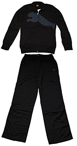 PUMA Sport-Anzug, Trainingsanzug, Damen, schwarz, Gr. 36 (176)