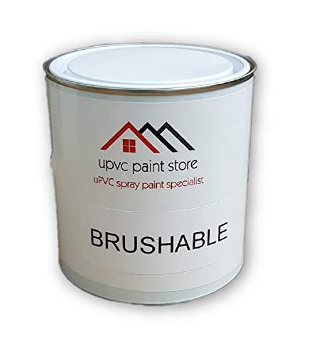 PVC Brusbable Paint 1L - UPVC,PVCU Ready to use Window, Door, Plastic