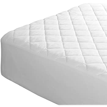 King Quilted Mattress Protector Cover Extra Deep All Uk Sizes