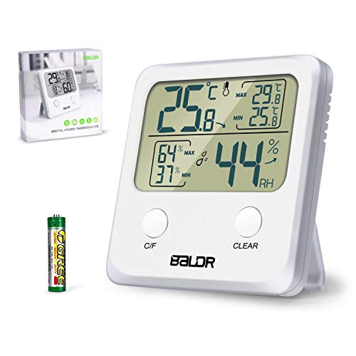 Jovego Temperatura Higrometro Digital,Termómetro Higrometro Digital de Interior para Casa Ambiente...