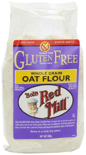 Bob's Red Mill Gluten Free Whole Grain Oat Flour 400 g (Pack of 4) Test