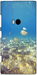 Snoogg Underwater Designer Protective Back Case Cover For Nokia Lumia 920