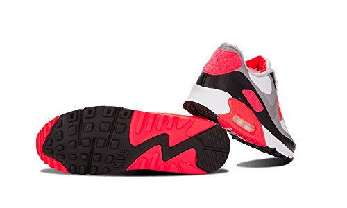 41yEAO9r3YL - Nike Mens Air Max 90 Infrared Patch SP White Infrared Trainer