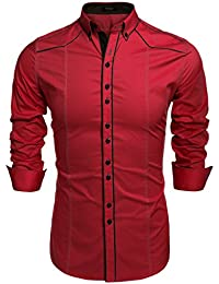 Amazon.co.uk: Shirts - Men: Clothing: Casual Shirts, Formal Shirts ...