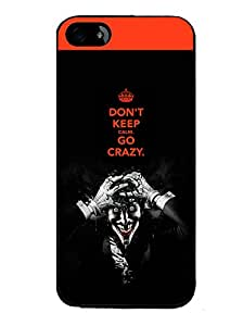 PrintVisa Metal Printed Crazy Quotes Designer Back Case Cover for Mototola Moto G2 (2nd Gen)-D4874