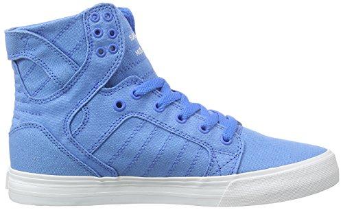 Supra SKYTOP D Unisex-Erwachsene Hohe Sneakers Blau (ROYAL - WHITE ROY)