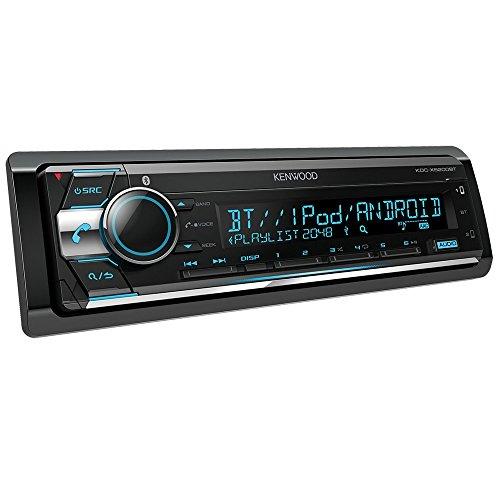 Kenwood KDC-X5200BT CD-Receiver mit Bluetooth-Freisprecheinrichtung und Apple iPod-Steuerung schwarz (Radio Kenwood Mit Bluetooth)