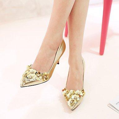 YFF Nach Latin Dance Schuhe mit hohen Absätzen Ballroom Tango Salsa, Splitter 7 cm Absatz, 6.