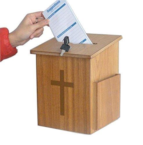 Fassung zeigt Kirche Sammlung Fundraising Vorschlagsbox donnation Charity Box 1088510885