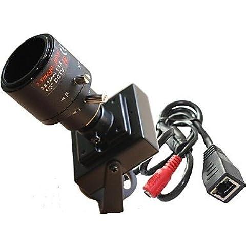 Piteng? mini macchina fotografica del IP telecamera obiettivo della fotocamera di sicurezza IP di rete (Atm Macchina)