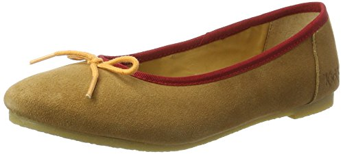 Kickers Women's Baie Ballet Flats, Braun (Marron Clair Orange), 3 UK