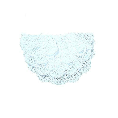 Kleines Jabot in weiß für Faschingskostüm Kostüm Zubehör