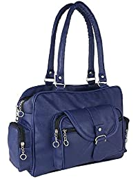Bizanne Fashion Bizarre Vogue Women's PU Handbag (Blue, BV1016)