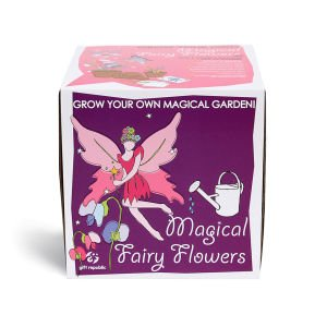 Sow and Grow Your Own Magical Fairy Flowers - This gift box includes everything needed for kids to grow an enchanting mix of fairy flowers. (Pack of 3)
