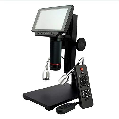 080P Digital Microscope Wireless Remote Control Bis zu 560x Vergrößerung mit Adjustable Stand, USB/HDMI/AV Output Camera Video Recorder ()