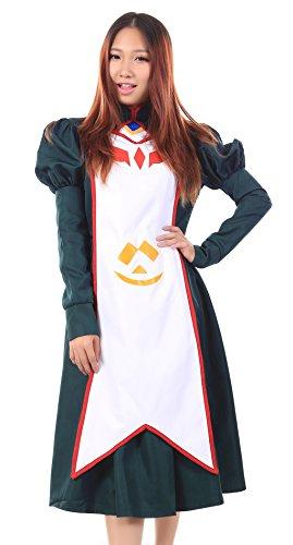 De-Cos My ZHiME, Mai-Otome, Dancing Maid Nina Wang Etiquette Uniform Set (Mai Otome Cosplay Kostüm)