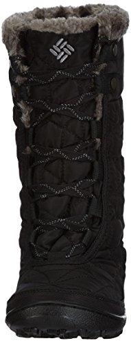 Columbia Minx Mid II Omni-Heat, Chaussures Multisport Outdoor femme, Noir (010), 41 EU (8 UK) Noir (010)