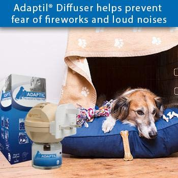 Adaptil Starter Kit Constant Calming & Comfort at Home Loud Noise Stay alone fears fireworks by adaptil