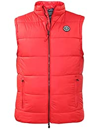 New Mens Bodywarmer Padded Crosshatch Branded Body Warmer Gilet Quilted Jacket