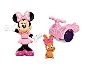 Fisher Price - V7181 - Figurine - Minnie et sa Trottinette