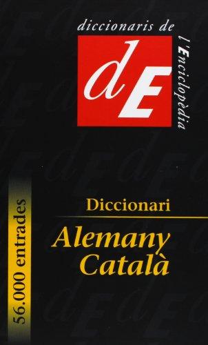 Diccionari alemany-català (Diccionaris Bilingües, Band 43)