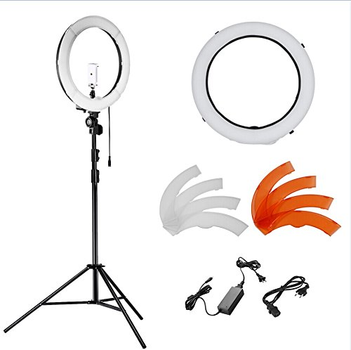 neewer luce ad anello led  Neewer LED Kit di Anello Luce Dimmerabile | Prezzi e Offerte ...