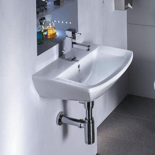 Hudson Reed - Lavabo Bagno Sospeso Modello Moderno con Troppopieno ...