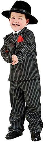 Italienische Herstellung Deluxe 5 Stück Baby &Ältere Jungen 1920s Jahre Gangster Anzug Verkleidung Kleid Kostüm Outfit 0-12 Jahre - Weiß, 8 Years (Italienisch Kostüm Für Jungen)